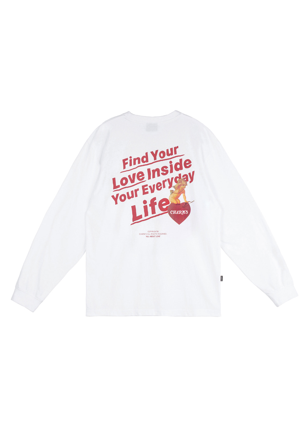 CHARMS CPD LONGSLEEVE WH