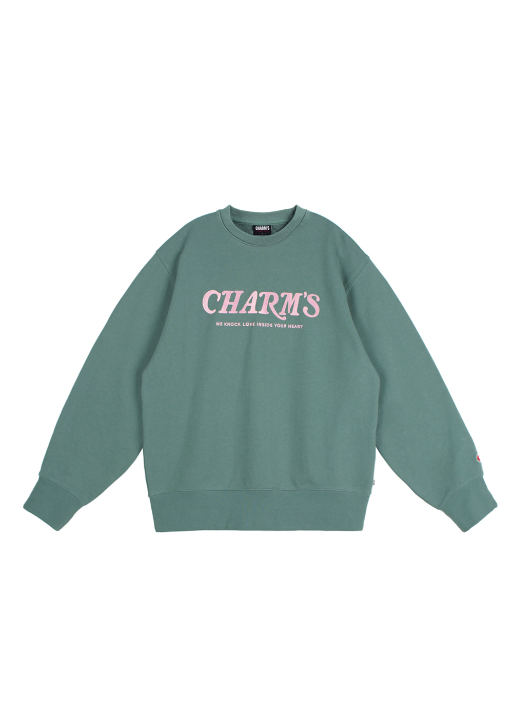 CHARMS WAVE LOGO SWEATSHIRTS GN