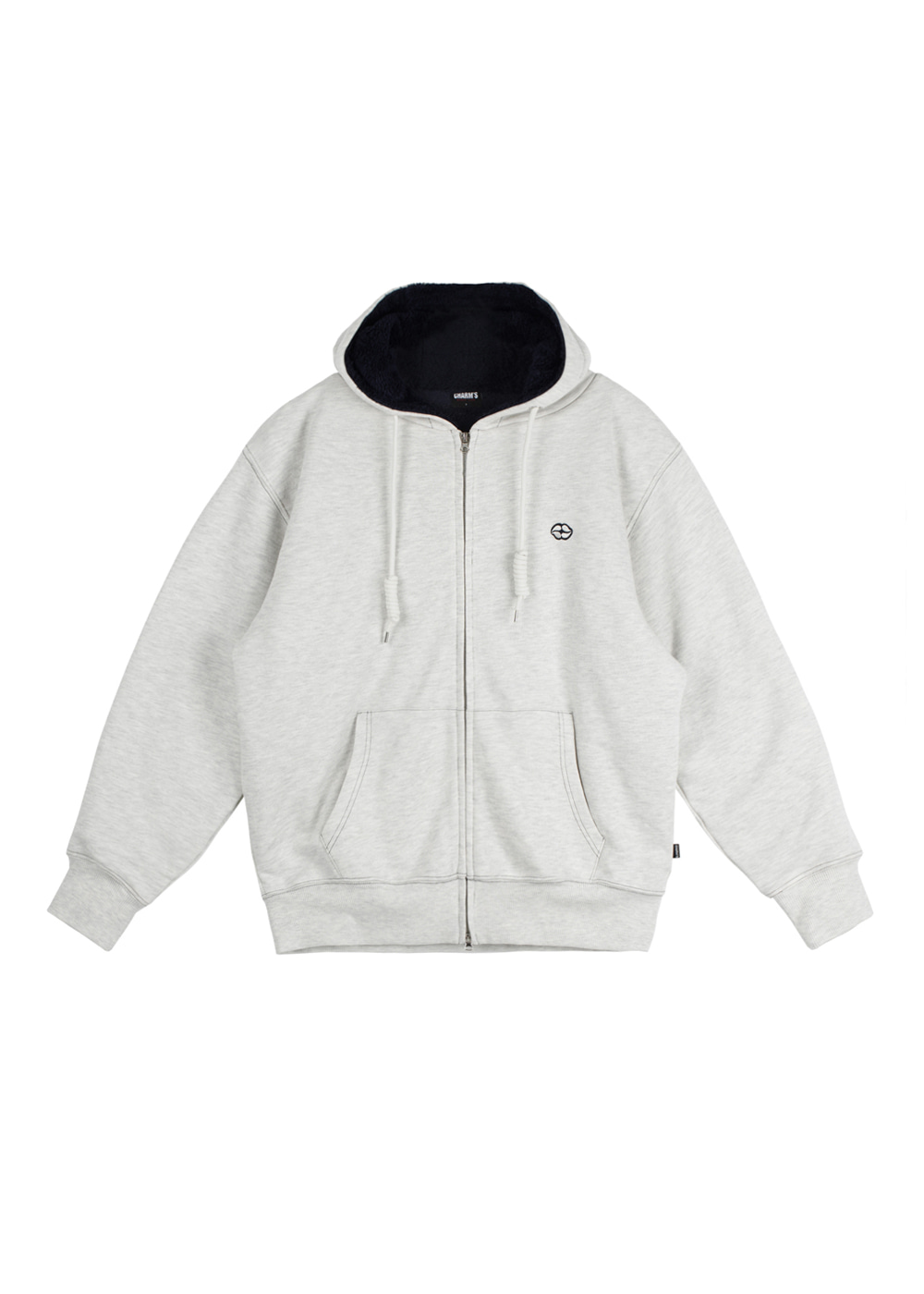 CHARMS HEART LIP ZIP UP HOODIE IV