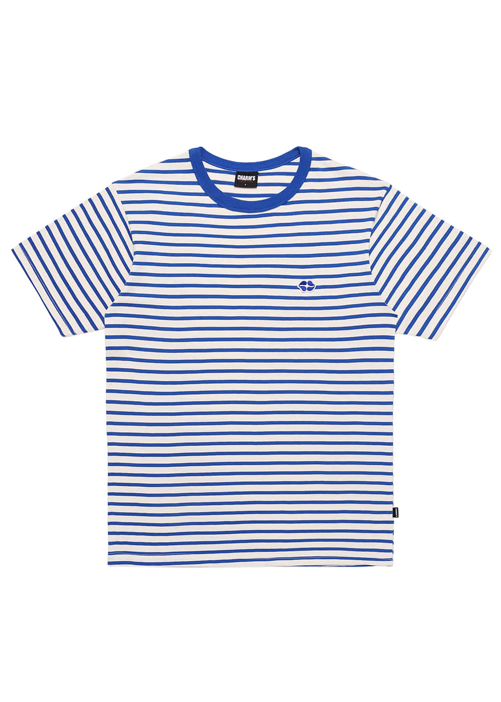Heart Lip Logo Stripe T Shirts BL