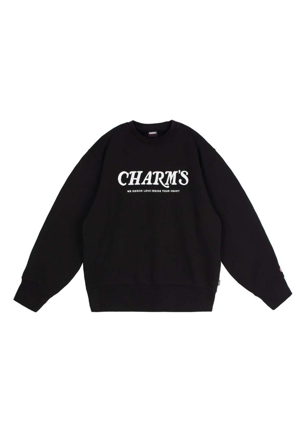 CHARMS WAVE LOGO SWEATSHIRTS BK