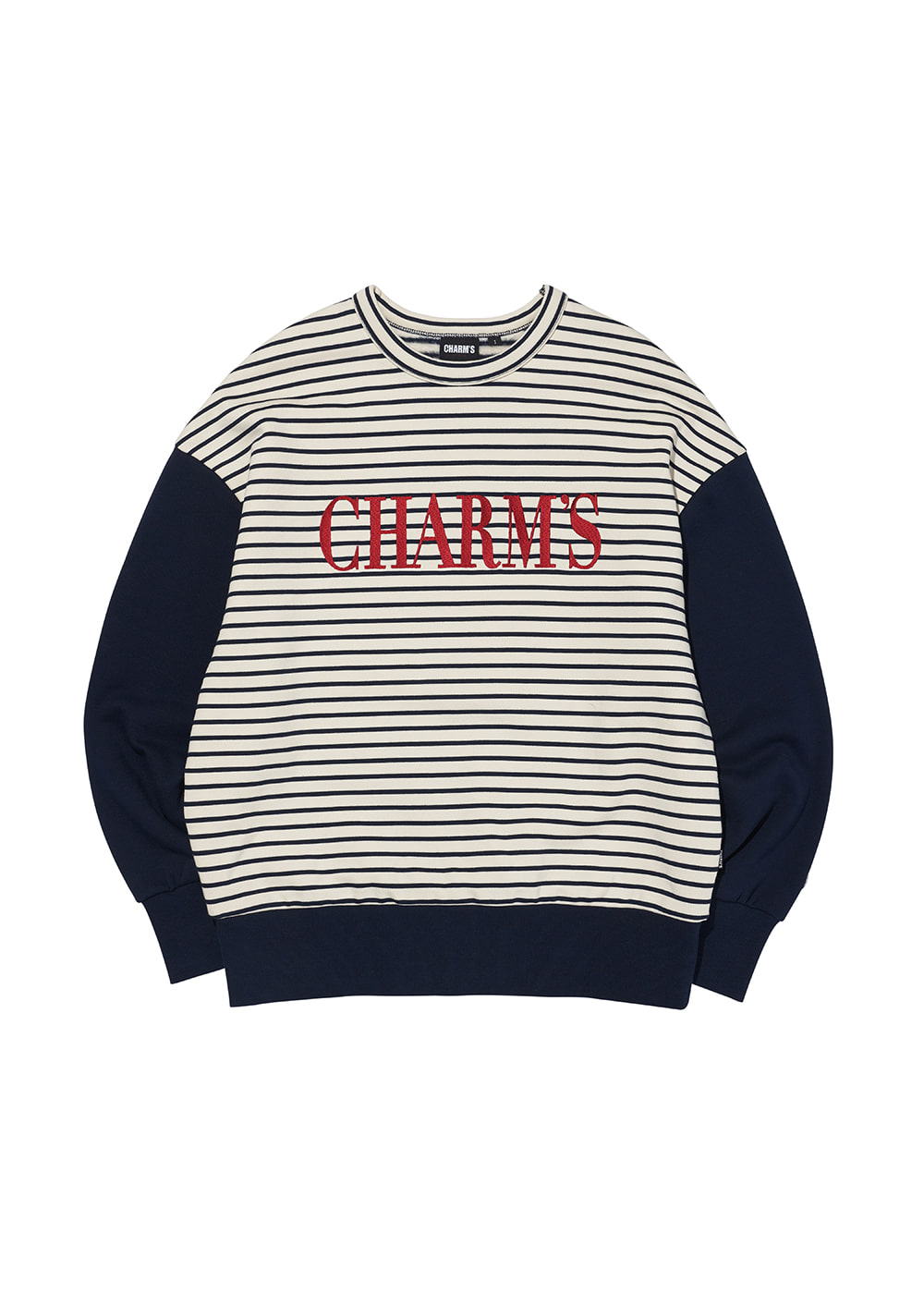 CHARMS STRIPE LOGO SWEATSHIRTS IV