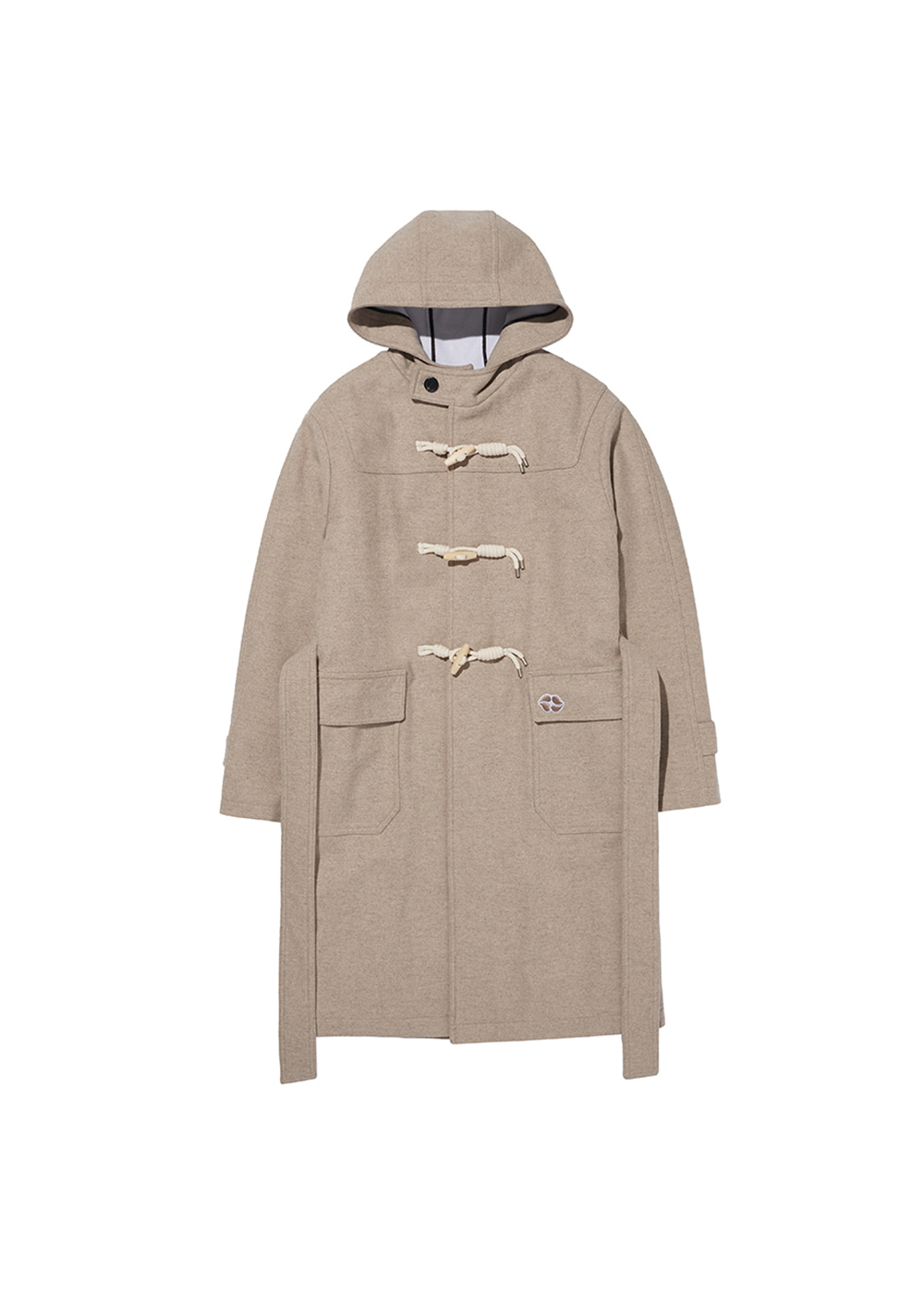 CHARMS DUFFLE WOOL COAT BE
