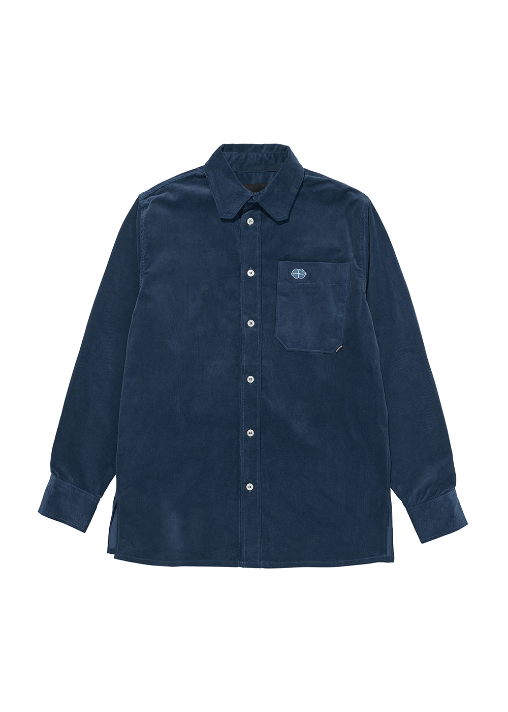 CHARMS CORDUROY SHIRT BL